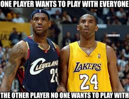 Kobe Memes - perfect meme to show the difference between lebron james kobe