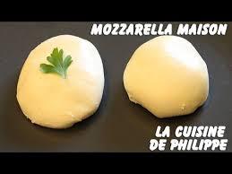 comment cuisiner la mozzarella mozzarella maison