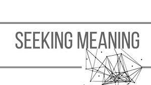 Seeking Meaning Writing Joanna Cohen