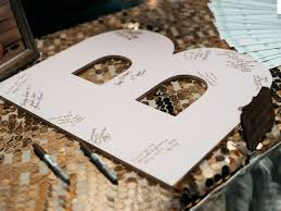 monogrammed guest book monogram guest book letters