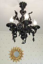 chandelier astounding black glass chandelier glass sphere