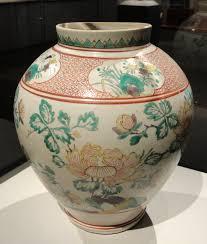 Japanese Kutani Vases File Kutani Style Arita Ware 17th Century Japan Porcelain Art