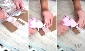 Shabby Chic Wedding Accessories diy wedding reception ideas treating your guests the shabby chic