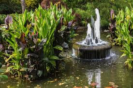 Backyard Water Fountain can fountains and other water features be sustainable modernize