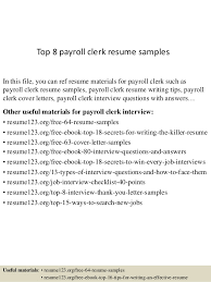 resume exles entry level accounting clerk interview answers payroll clerk resume resume templates