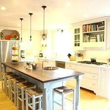 narrow kitchen with island narrow kitchen island ideas younited co