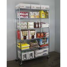 Bakers Rack With Wheels Chrome Shelves U0026 Shelf Brackets Storage U0026 Organization The