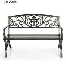Modern Metal Garden Furniture Online Get Cheap Modern Metal Benches Aliexpress Com Alibaba Group