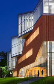 best 25 school architecture ideas only on pinterest school weiss manfredi drapes jagged brick sash over facade of ohio architecture school