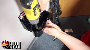 wall mount gun hangers how to mount your rifle on the wall wall hanger youtube