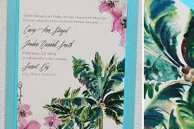 tropical wedding invitations wordings classic wedding destination invitations with blue