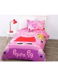Peppa Pig Toddler Duvet Cover Peppa Pig Garden Fun Duvet Cover Set Duvet Covers U0026 Co Ordinates