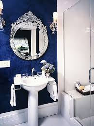 light blue bathroom ideas blue wall decor for bathroom white washbowl in floating wooden