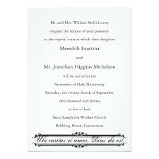 catholic wedding invitation christian wedding invitations ubi caritas et catholic wedding