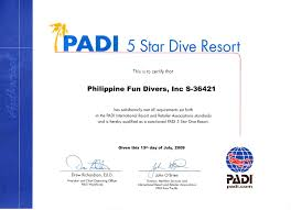 padi dive courses bohol philippines philippine fun divers bohol