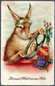 vintage rabbit cards search easter and images