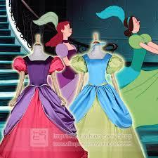 Cinderella Ugly Stepsisters Halloween Costumes Cinderella Step Sisters Costumes Anastasia Drizella