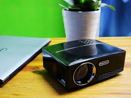 home theater projector gp80 mini projector 1800 lumens led full color 1080p video media