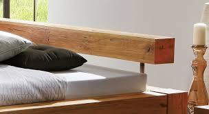 Schlafzimmer Betten Rund Bett In Komforthöhe Aus Massivem Wildeichenholz Rustico