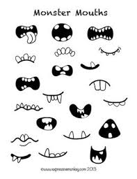 how to draw doodle faces drawing activity monsters doodles and drawings