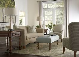 furniture pretty beige havertys sofa with wooden legs and ottoman