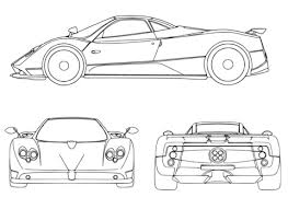 sport car coloring free printable coloring pages