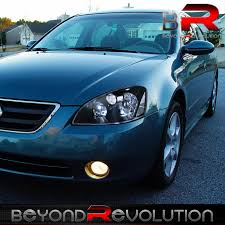 nissan altima for sale lebanon crystal black housing jdm headlights for 2002 2003 2004 nissan