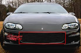 2000 camaro grill for 98 03 chevy camaro black billet grille insert ebay