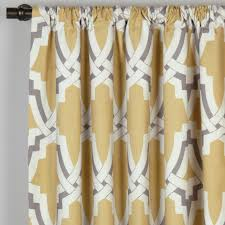 Striped Yellow Curtains Curtains Plan Grey And Yellow Window White Striped Velvet Amazing