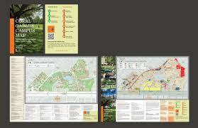 University Of Miami Campus Map by Yazi University Of Miami Print