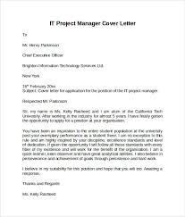 sample cover letter for manager sample cover letter examples for