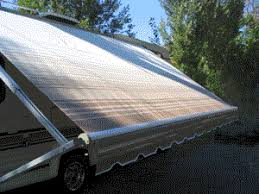 Roll Up Window Awnings Replacement Fabrics Shademaker Products Corp