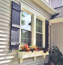 the four board joined shutters exterior house and curb appeal