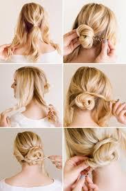 cute updo hairstyles for medium hair best haircut style
