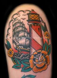 lighthouse tattoo images u0026 designs