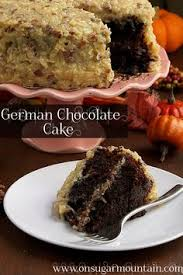 german chocolate cake recipe chocolate cakes cakes and on