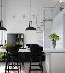 apartments minimalist dining room apartment design with square