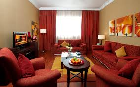 brilliant red living room design ideas impactful and visually