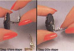 how to convert clip on earrings to pierced style the new black can t or don t pierced ears try