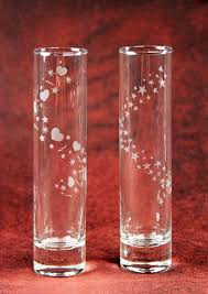 Dollar Store Cylinder Vases Jazz Up Dollar Store Bud Vases With Etched Spirals Of Hearts