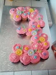 The Best Birthday Cupcake Cakes Recipe Pull Apart Cupcake Cake - Pull apart cupcake designs