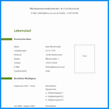Lebenslauf Muster Modern 8 Lebenslauf Muster Modern Business Template