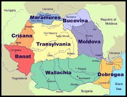 Romania Map Istvan Maps