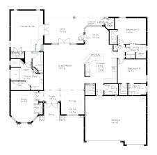 single open floor plans modern house plans plan single small one bedroom 4 bedroom