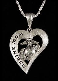 marine jewelry marine heart design
