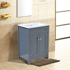 Bathroom Storage Vanity by Homcom Bathroom Sink Cabinet Vanity Unit Basin Wooden Storage