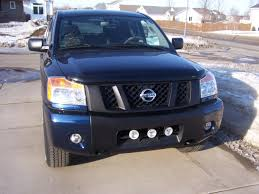 nissan armada for sale sioux falls blacking out the t nissan titan forum