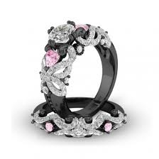 vancaro engagement rings black and pink engagement ring 2017 wedding ideas magazine