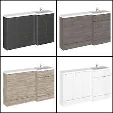 Hudson Reed Bathroom Furniture 1500mm Hudson Reed Compact 3x Base Vanity Unit Bathroom Furniture