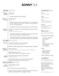 Best Resume Ever Github by Sonny Shi
